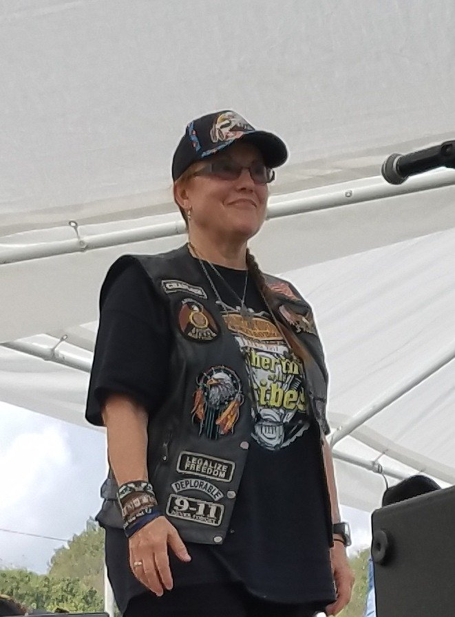 Ann M. Wolf at Trail of Tears Remembrance 2017, Clarksville, TN